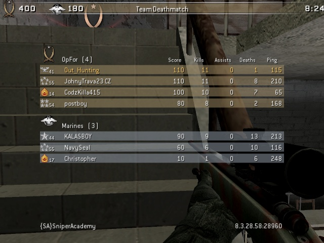 Killer App   (Rejected due to Resignation) Cod4mp15