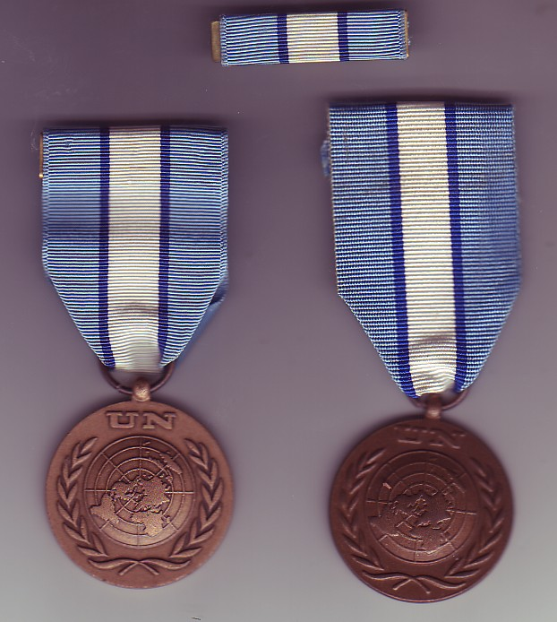 United Nations medal Unficy10