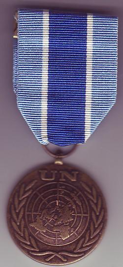 United Nations medal Unmik10