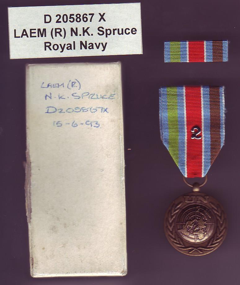 United Nations medal Unprof10