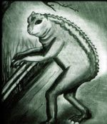 Cryptozoologie grenouille de Loveland créature inconnue cryptide forum Ohio USA Etats Unis