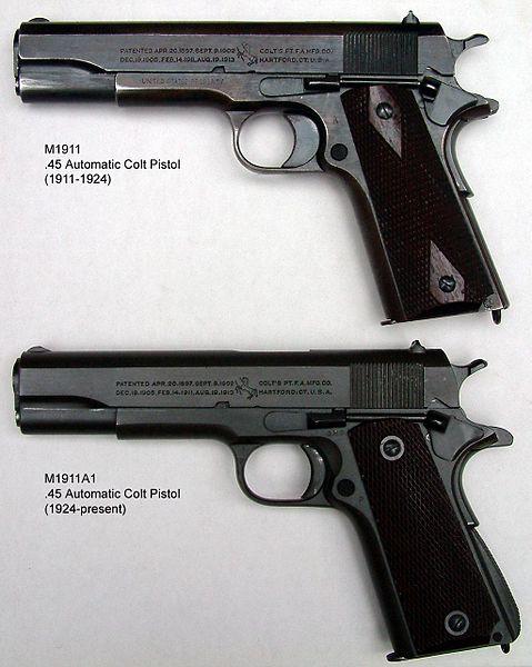 Colt 1911,100 años un mito. 479px-10