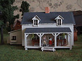 Little House Miniature Models Huis210