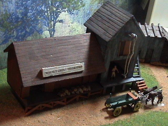 Grove - Little House Miniature Models Wg1010