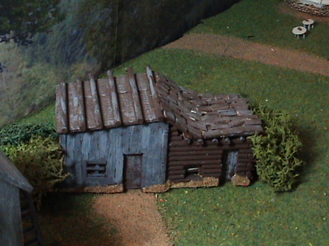 Grove - Little House Miniature Models Wg1110