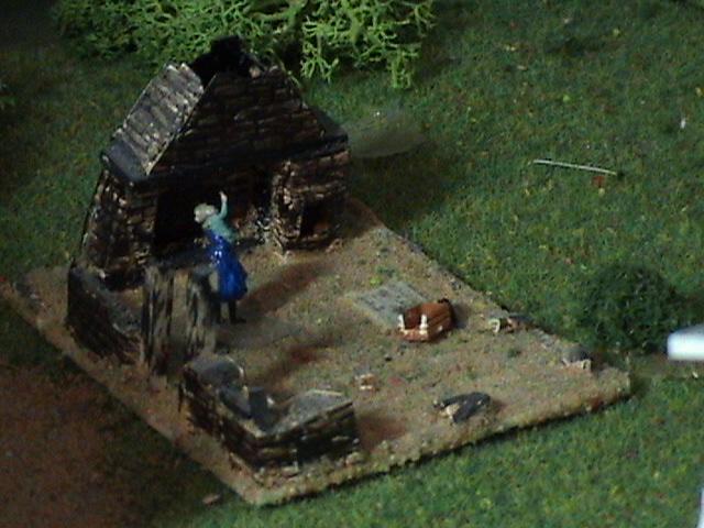 Grove - Little House Miniature Models Wg1610