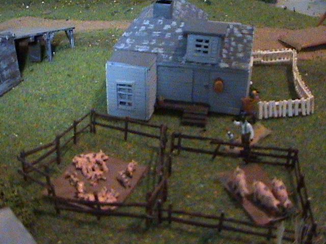 Grove - Little House Miniature Models Wg1811