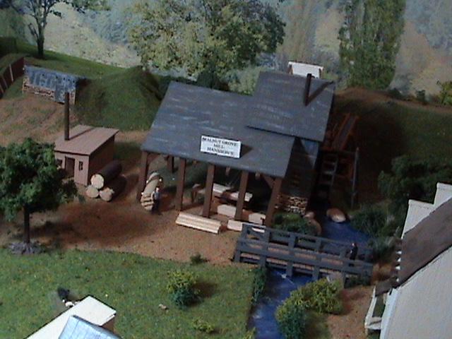 Grove - Little House Miniature Models Wg511