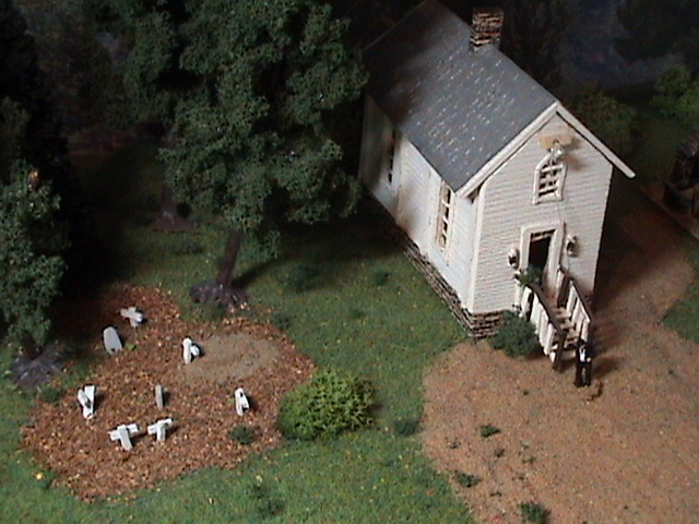 Grove - Little House Miniature Models Wg710