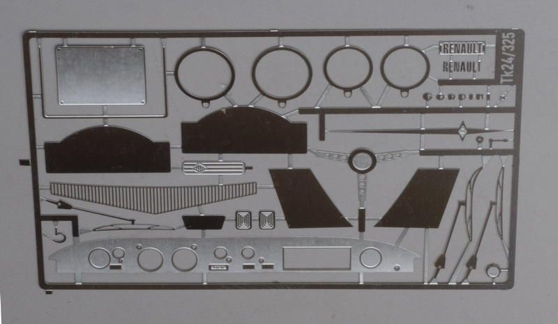 La mythique R8 Gordini Heller  Tk24-310