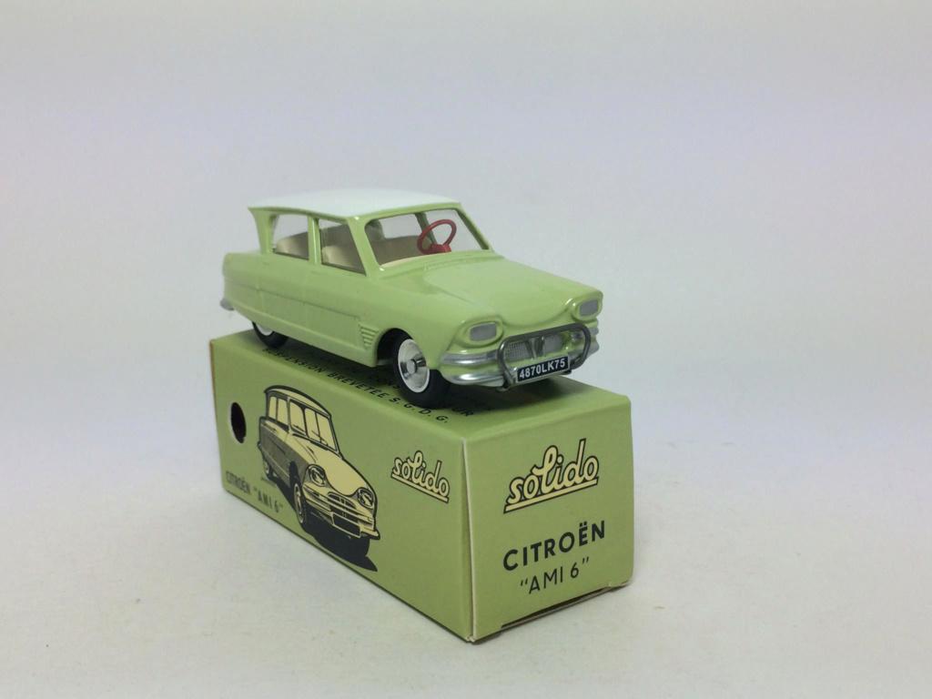 numéro 2 Citroën Ami 6 berline 75030110