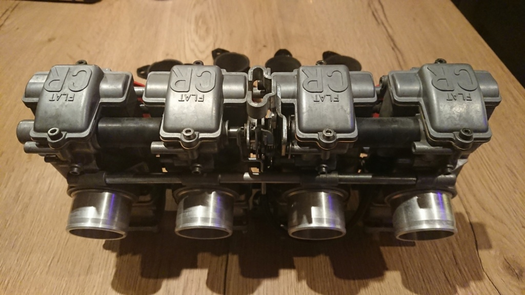 carburateurs fcr 39 racing Keihin yamaha xjr 1200 Rampe_12