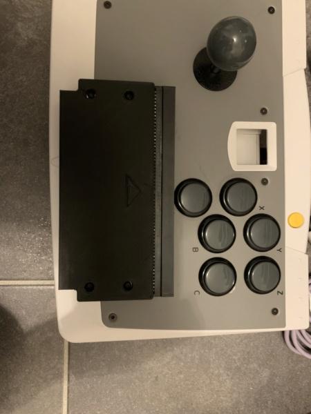Coque (impression 3D) pour adaptateur MVS Fusion de furrtek - Page 4 Coque110