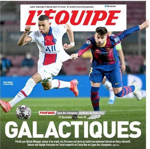 Barselone - PSG : vos pronostics M_bapp10