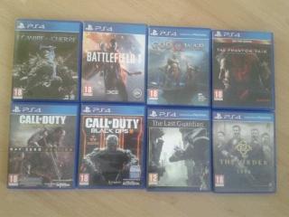 [vente FLash] 8 jeux PS4 -- 90e Fdpin (God of war 4 - MGS - Last guardian...) 2018-110