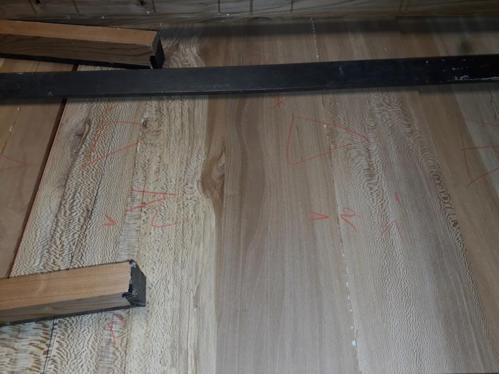 Escalier Droit en Frêne avec tiroirs  20200214
