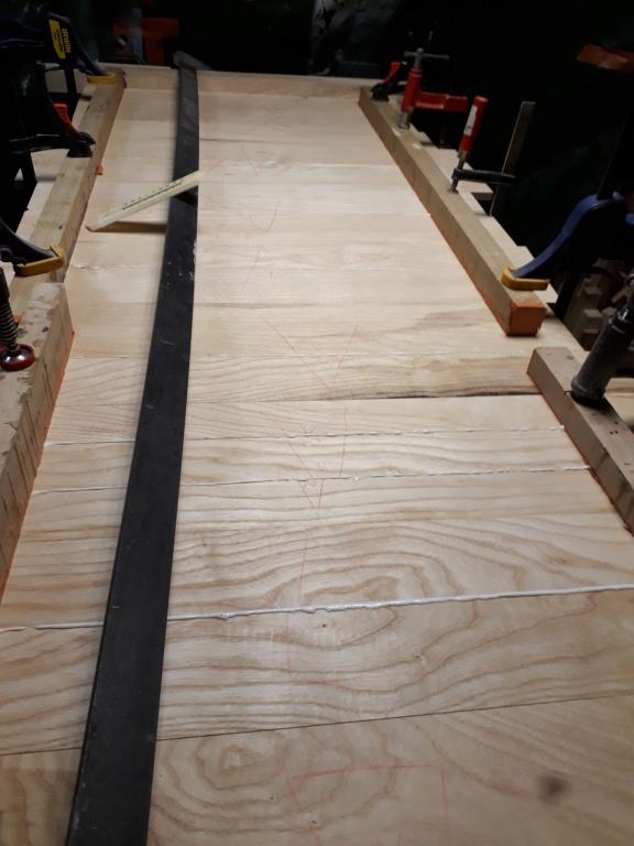 Escalier Droit en Frêne avec tiroirs  20200317