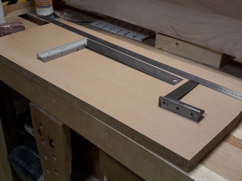 Escalier Droit en Frêne avec tiroirs  - Page 4 20200579
