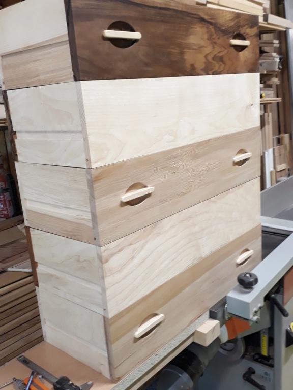 Escalier Droit en Frêne avec tiroirs  - Page 4 20200580