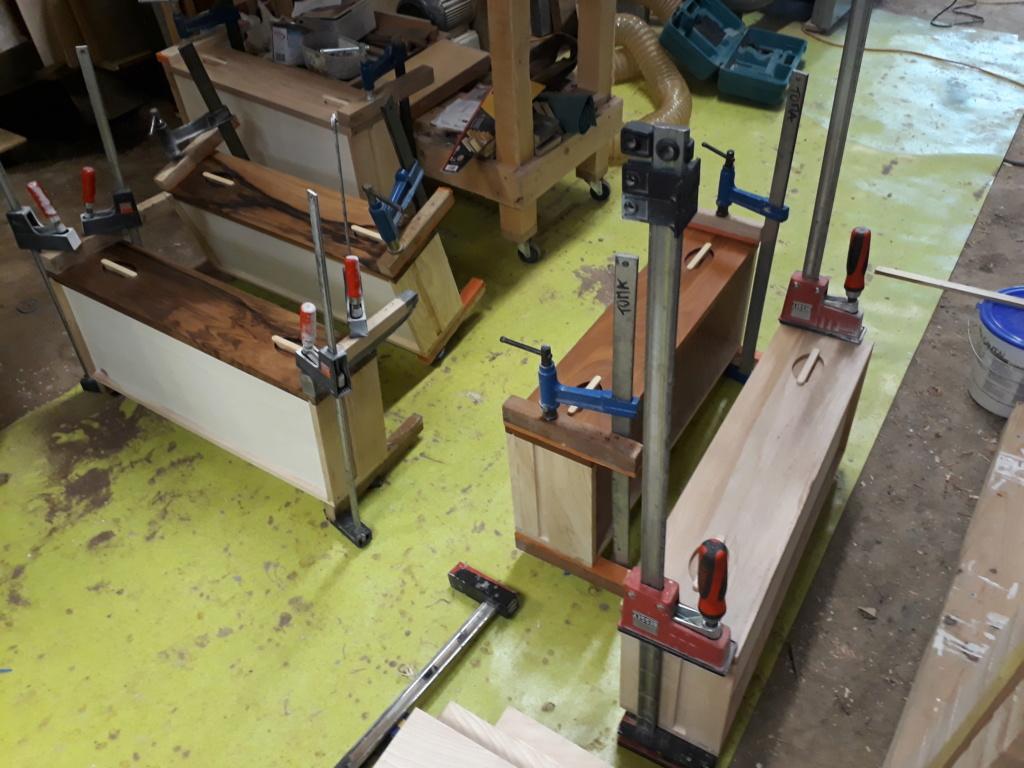 Escalier Droit en Frêne avec tiroirs  - Page 4 20200581