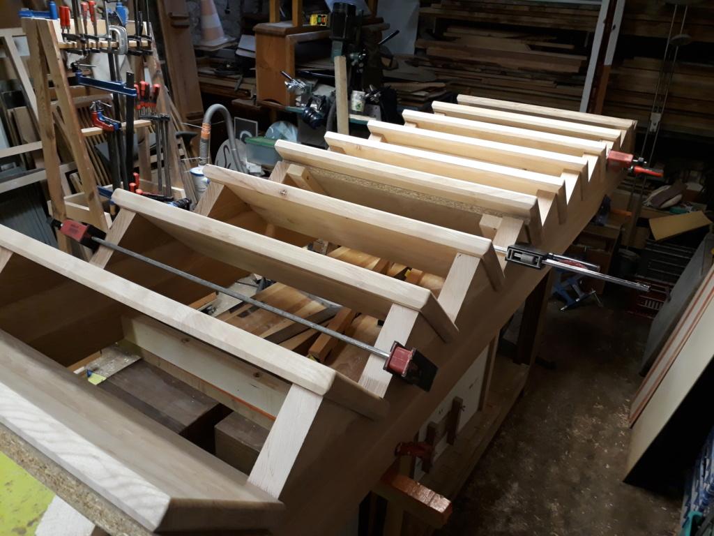 Escalier Droit en Frêne avec tiroirs  - Page 4 20200583