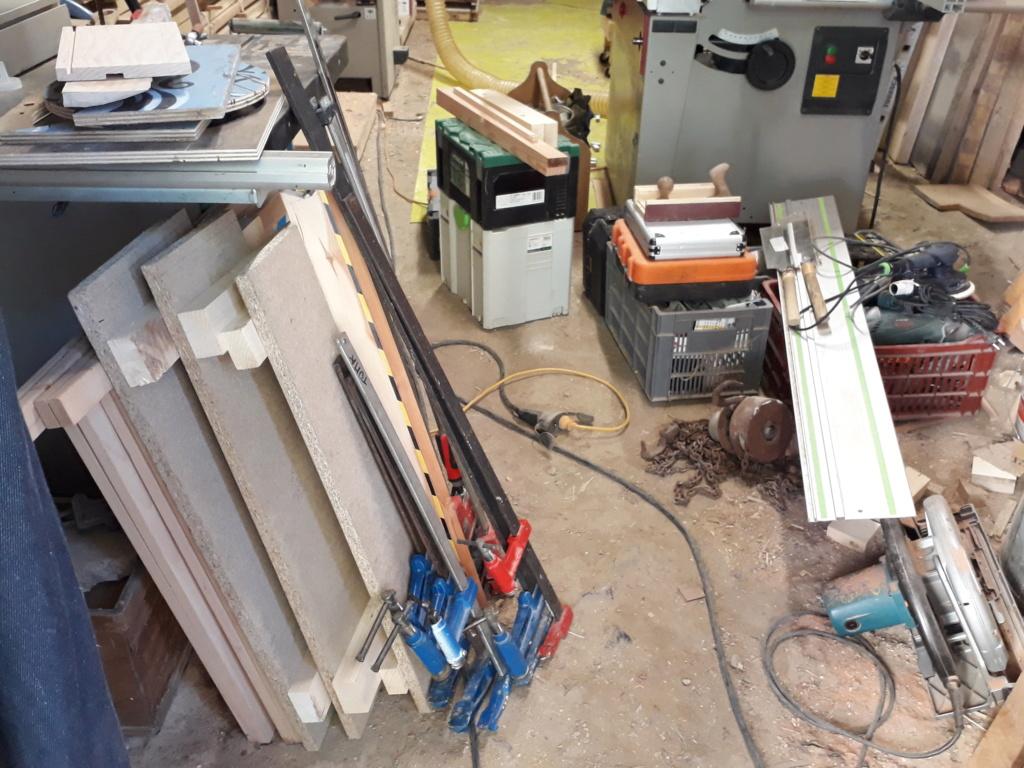 Escalier Droit en Frêne avec tiroirs  - Page 4 20200584