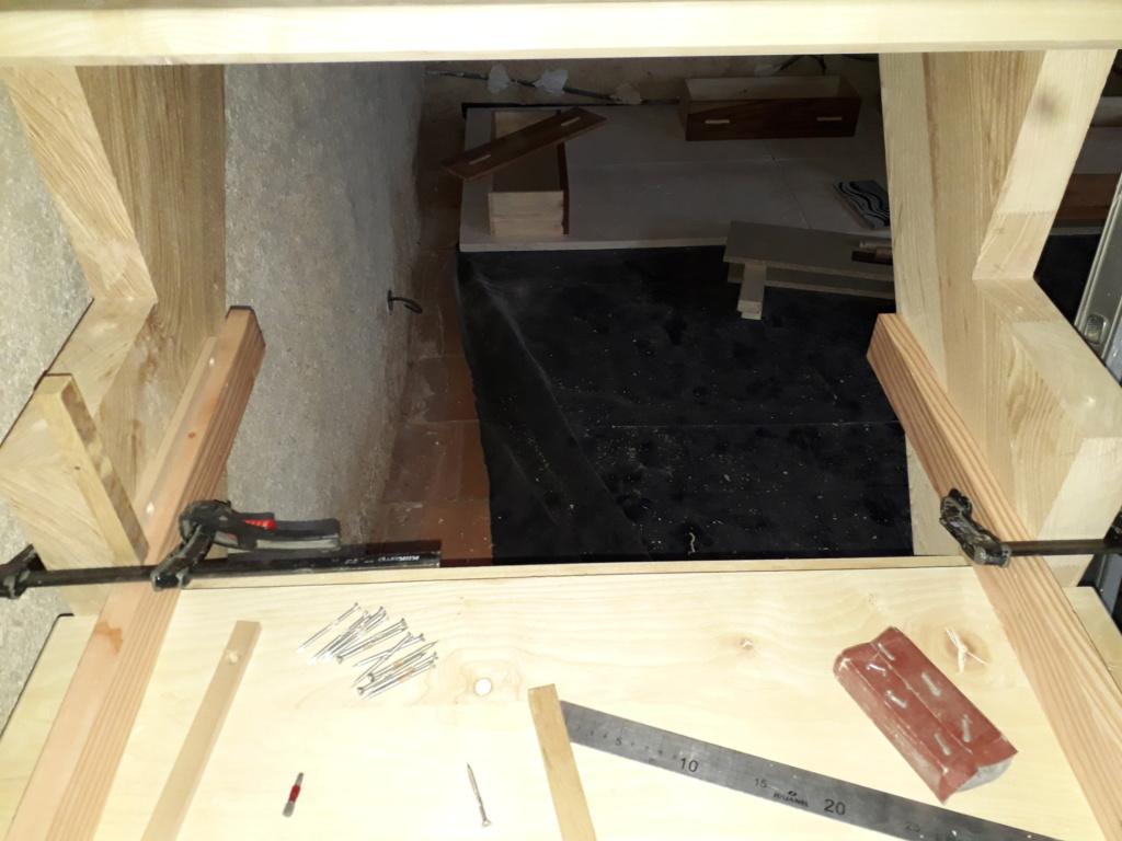 Escalier Droit en Frêne avec tiroirs  - Page 4 20200588