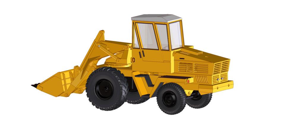 hydraulischer Schwenklader HON-050 und HON-051 Hon05110