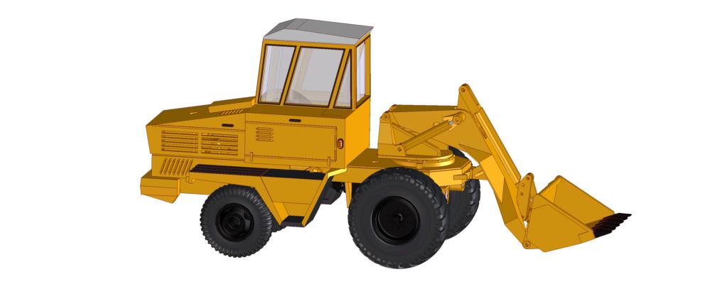 hydraulischer Schwenklader HON-050 und HON-051 Hon05111