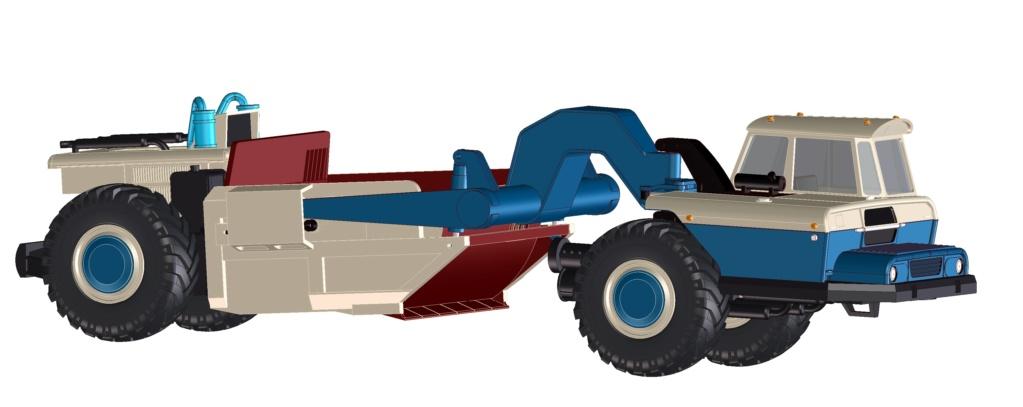 Stavostroj Einachsschlepper T180/D10 Kübelkipper und T180/S10 Scraper - Seite 2 T180-s10