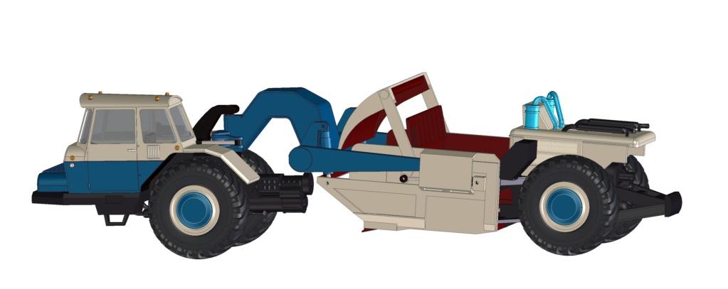 Stavostroj Einachsschlepper T180/D10 Kübelkipper und T180/S10 Scraper - Seite 2 T180-s11