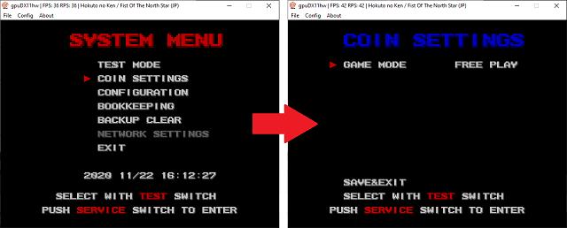 Tutoriel : modifier les paramètres de vos jeux Atomiswave - DC 1310