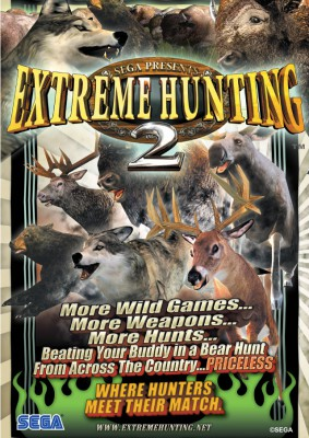 Extreme Hunting 2 Tournament Edition Atomiswave porté sur Dreamcast 16037210