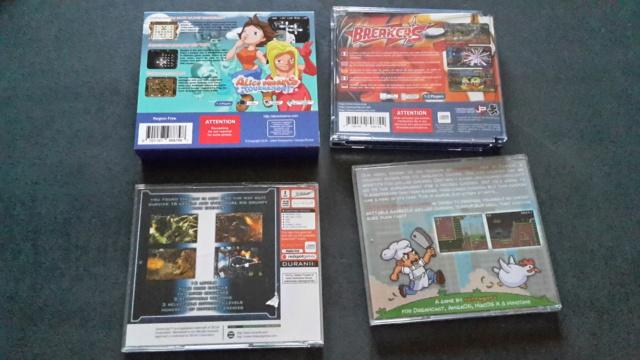 [VDS] Homebrews, jeux DC, homebrews MD, accessoires DC... ajout Redux 1.1 et Tapis de dance 20210434