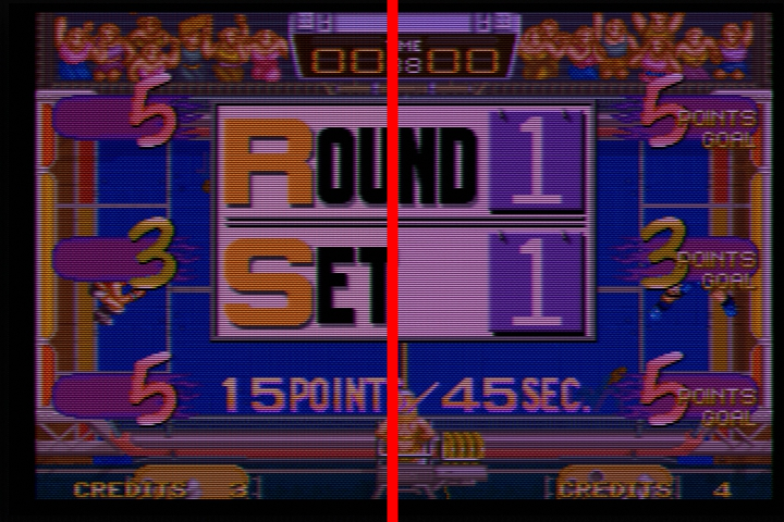 [AES] Comparatif : AES 3-6 VS AES 3-6 RGB Fix 411
