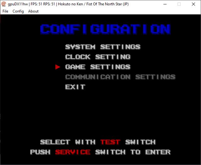 Tutoriel : modifier les paramètres de vos jeux Atomiswave - DC 514