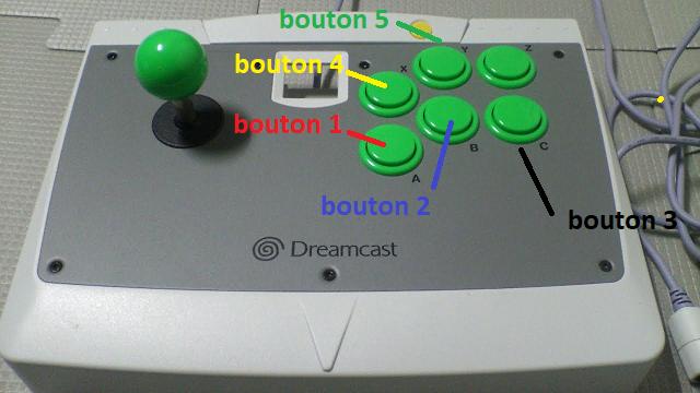 Tutoriel : modifier les paramètres de vos jeux Atomiswave - DC 810