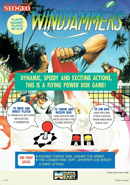 [Scan] Notices, flyers, artsets... NGCD - AES - MVS Flying Power Disc / Windjammers[Scan] Notices, flyers, artsets... NGCD - AES - MVS - PS4 - PSVita - Switch Flying Power Disc / Windjammers Artset11