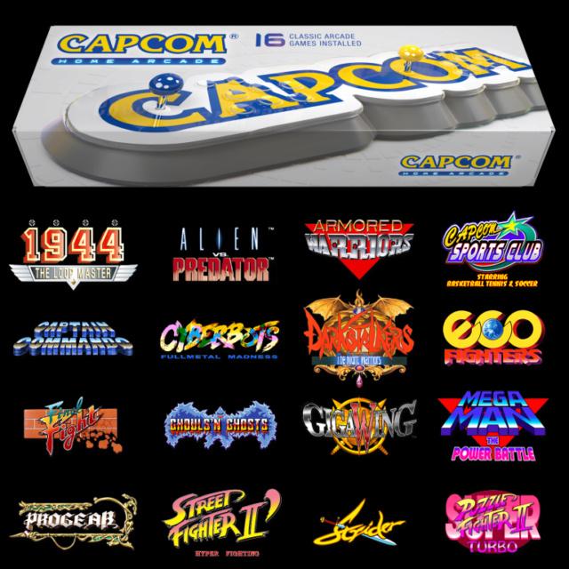 Capcom Home Arcade Cap10