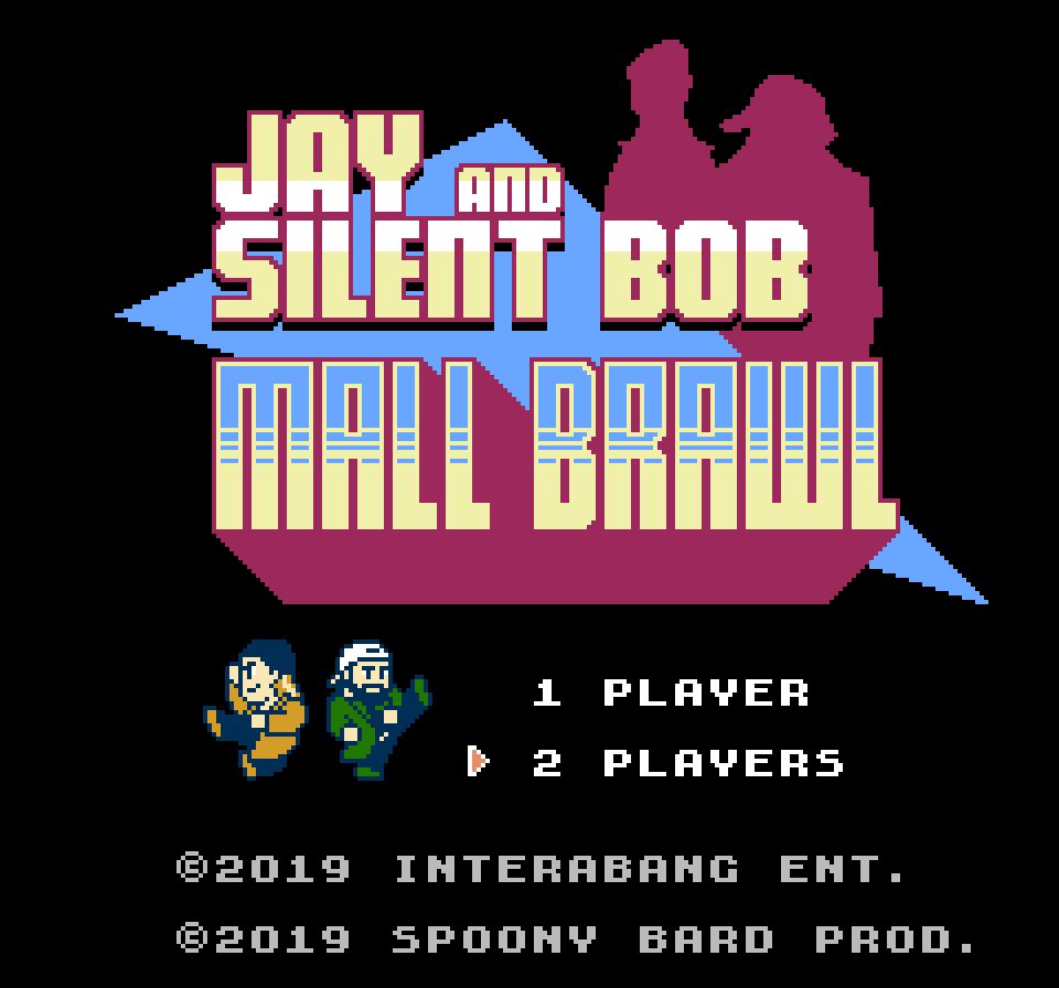 [NES] Jay and Silent Bob: Mall Brawl 8-Bit Game NES Cartridge Jay110