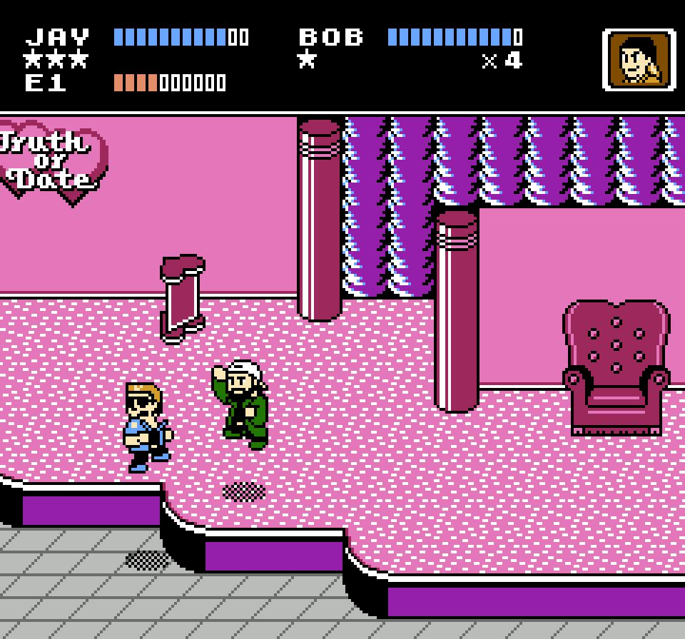 [NES] Jay and Silent Bob: Mall Brawl 8-Bit Game NES Cartridge Jay210