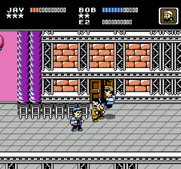[NES] Jay and Silent Bob: Mall Brawl 8-Bit Game NES Cartridge Jay310