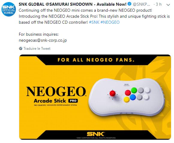 Nouvelles Neo Geo et nouveau Metal Slug ! Stick10