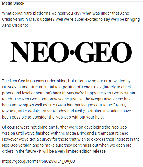 [Multi-supports] Xeno Crisis, les différentes news - Page 2 Xc210