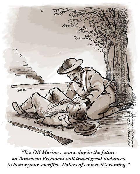 Veteran's Day called on account of rain 45844610