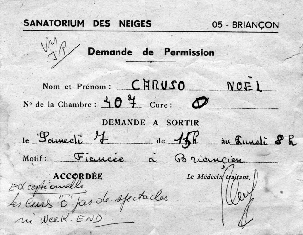[ Histoire et histoires ] Le Sanatorium de Briançon (Le Grand Hôtel des Neiges) - Page 2 Demand10
