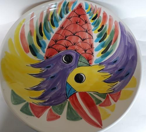 For gallery eccentric Terra platter  17-ter10