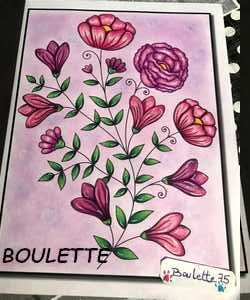 Coloriage anti-stress art-thérapie forum officiel coloriage zen adulte Boulet19