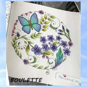 Coloriage anti-stress art-thérapie forum officiel coloriage zen adulte Boulet36
