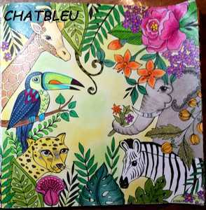 Coloriage anti-stress art-thérapie forum officiel coloriage zen adulte Chatbl27